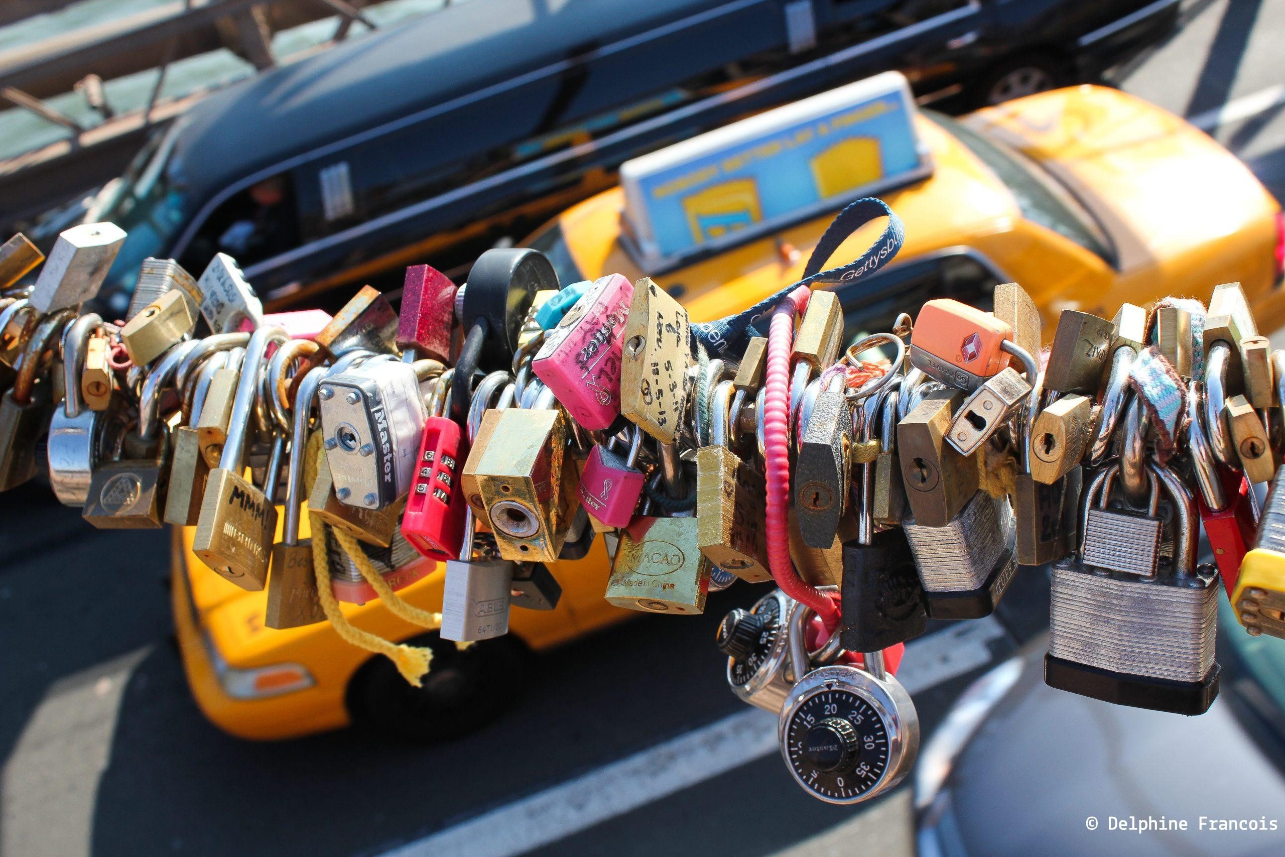 New york taxi et cadenas